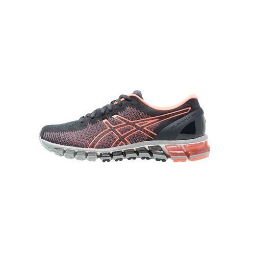Asics  gelquantum 360 2 obuwie do biegania treningowe india ink/flash coral/midgrey
