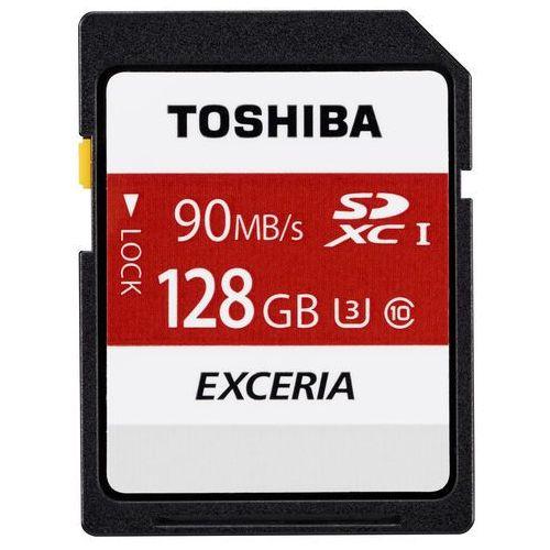 Toshiba EXCERIA N302 N302 SDXC 128GB 128GB SDXC UHS-I Klasa 10 pamięć flash, THN-N302R1280E4