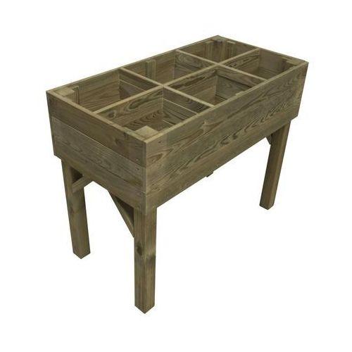 Stelmet Warzywnik - zielnik 100 x 50 cm drewniany (5900886390194)