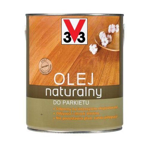 V33 Olej naturalny do parkietu 2.5 l miodowy (3153890229772)