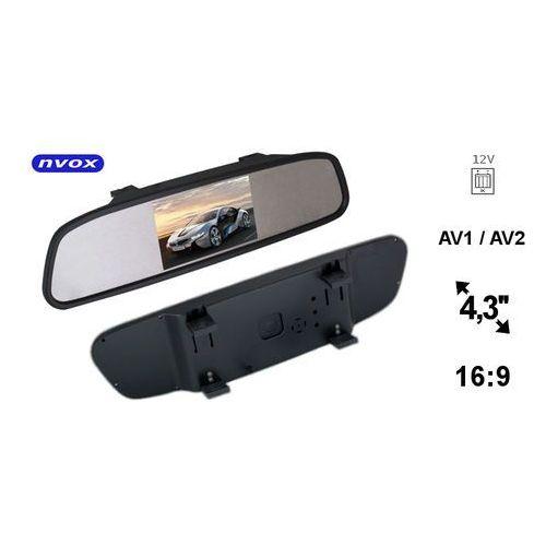 NVOX Monitor LCD 4,3 cala w lusterku wstecznym 12V (5901867721303)