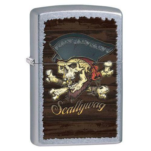 Zapalniczka ZIPPO Pirate Skull Skallywag, Street Chrome (Z207019)