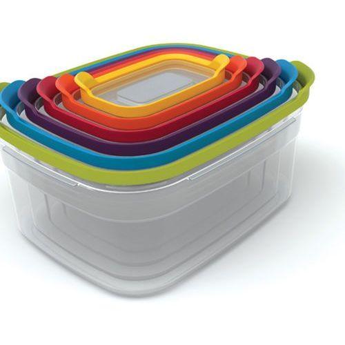 Joseph Joseph - Nest Storage 6 Zestaw pojemników do przechowywania żywności