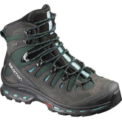 quest 4d 2 gtx buty trekkingowe asphalt/green black/haze blue marki Salomon