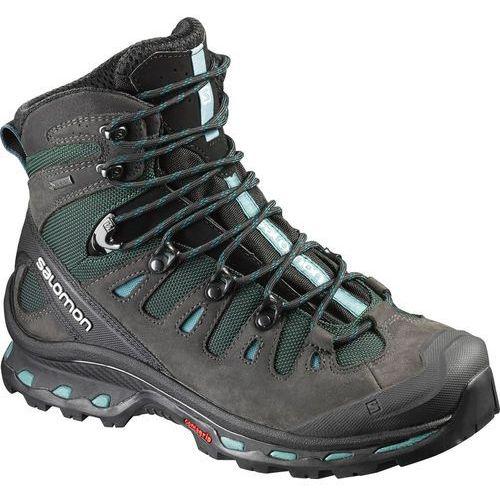 Salomon quest 4d 2 gtx buty trekkingowe asphalt/green black/haze blue (0889645074443)