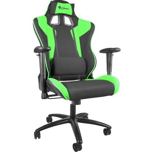 GENESIS Fotel dla gracza NITRO 770 czarno-zielony NFG-0908 - odbiór w 2000 punktach - Salony, Paczkomaty, Stacje Orlen
