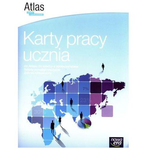 Wiedza o spoleczeństwie LO Karty pracy do atlasu. Zakres rozszerzony (2014) (9788326718618)