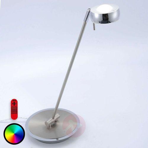 Leuchten Direkt LOLA-OPTI Lampa stołowa LED Stal nierdzewna, 2-punktowe - Nowoczesny/Design/Lokum dla młodych/Purystyczny - Obszar wewnętrzny - LOLA-OPTI - Czas dostawy: od 4-8 dni roboczych