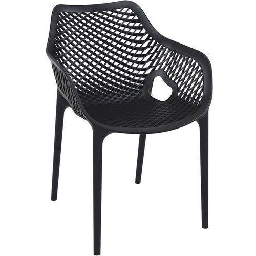 Resol Krzesło grid xl czarny