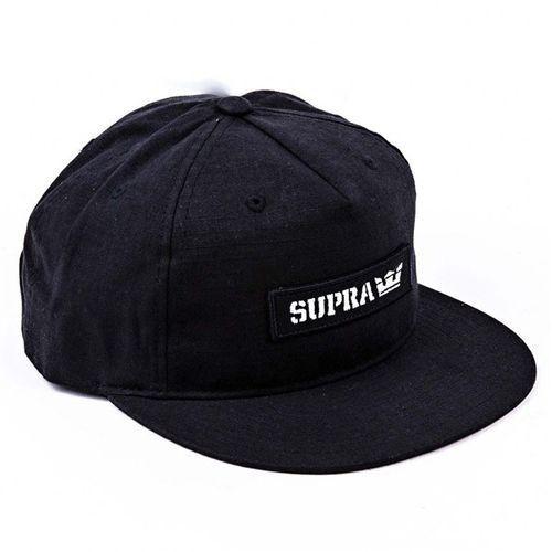 Czapka z daszkiem - mark patch snap black (001) rozmiar: os marki Supra