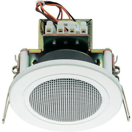 Głośnik sufitowy PA do zabudowy Monacor EDL-82/WS, 94 dB, 200 - 20 000 Hz, 100 V, Kolor: biały, 1 szt. (4016138776249)
