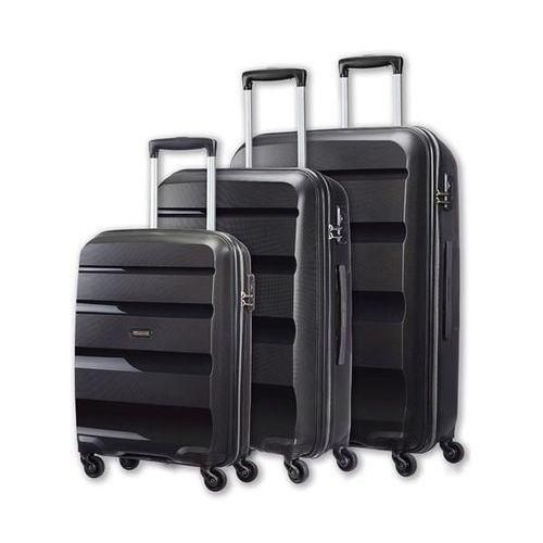 zestaw walizek bonair 85a09004 (czarny) - produkt w magazynie - szybka wysyłka! marki American tourister