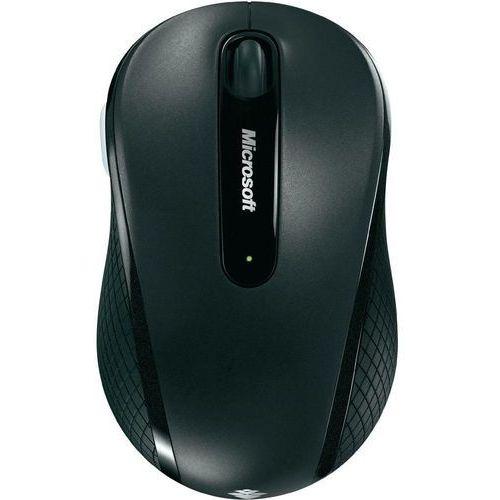 OKAZJA - Mysz laserowa  4000, bezprzewodowa, 1000 dpi, czarna, bluetrack, 4 przyciski marki Microsoft