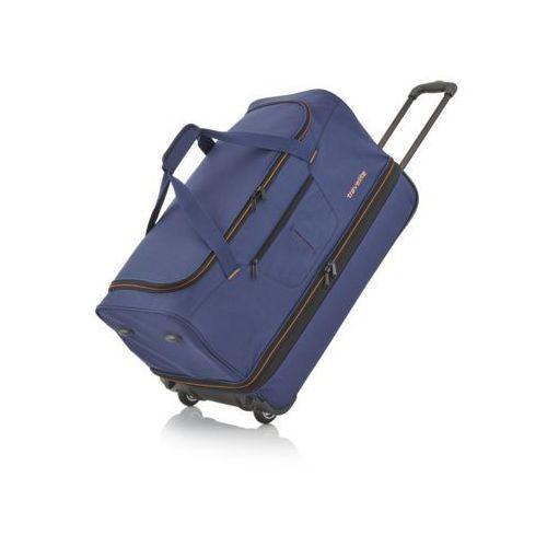 Basics duża torba podróżna poszerzana granatowa