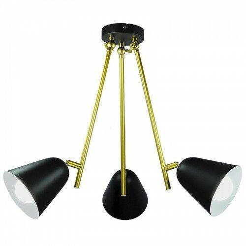 Alder czarna 3xe14 lampa sufitowa 5376 marki Rabalux