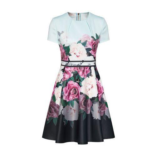 Ted Baker Sukienka koktajlowa 'WILMANA' miętowy / różowy pudrowy / ciemnoróżowy