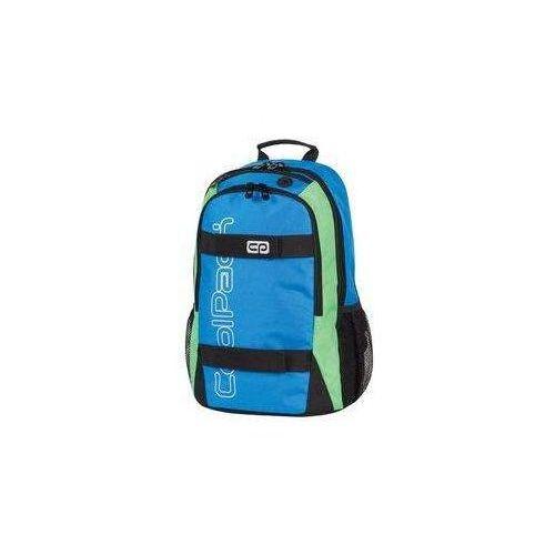 Plecak szkolny Coolpack Action 64484CP Blue Neon 429 - PATIO, kolor niebieski