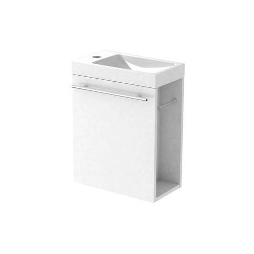 Zestaw szafka z umywalką duo marki Mirano