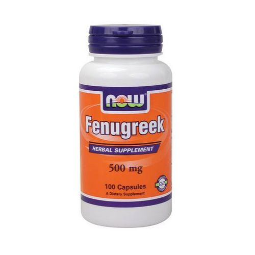 Now Foods Fenugreek Kozieradka 500mg 100 kaps.