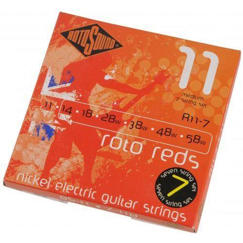 Rotosound R11-7 Roto 7 struny do gitary elektrycznej siedmiostrunowej 11-58