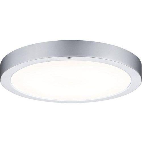 Lampa sufitowa led smooth, led wbudowany na stałe, 700 lm, 6000 k, (Øxw) 30 cmx3.5 cm, chrom (matowy) marki Paulmann