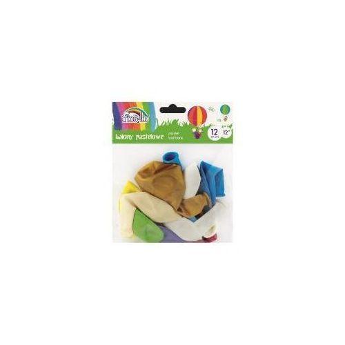 Fiorello Balony pastel 12'' mix 12 sztuk (5903364264628)