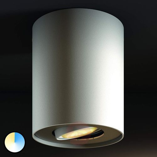 Philips hue white ambiance pillar spot, biały (8718696159323)