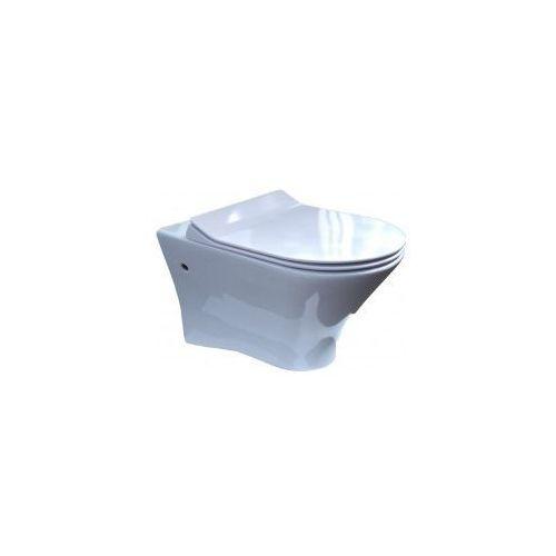 Deska sedesowa wolnoopadająca typu slim do misek wc roca nexo marki Pozostali