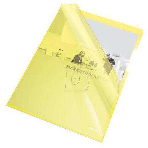 Esselte Ofertówka krystaliczna l 55431 a4/25szt.,150mic. żółta (5902812554311)