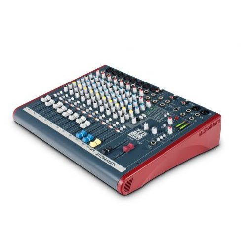 Allen&Heath ZED60 14FX mikser dźwięku z procesorem efektów, potencjometry suwakowe 60mm