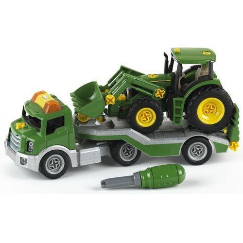 KLEIN Transporter + Traktor John Deere (4009847039088)