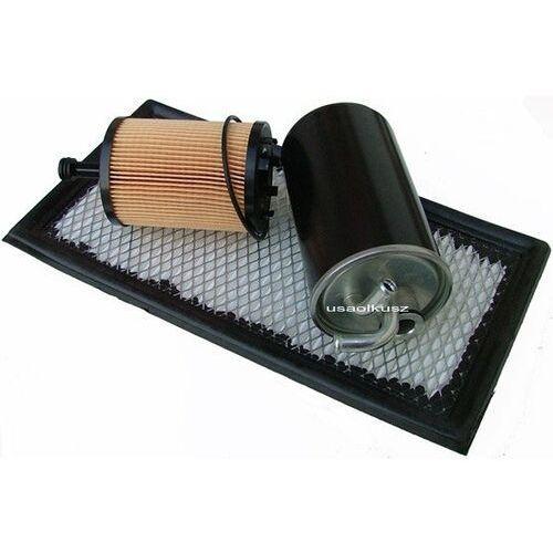 Kpl filtrów - filtr paliwa powietrza oleju Jeep Compass 2,0TD z kategorii filtry powietrza