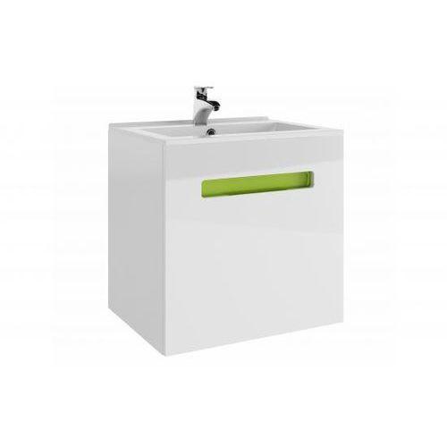 PROFORM Szafka OPEN z umywalką Plan 60 ( biały(wysoki połysk) )