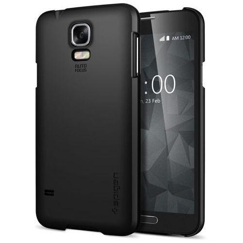 Oryginalna obudowa etui Spigen SGP Ultra Fit Smooth Black Samsung Galaxy S5 (8809404210471)