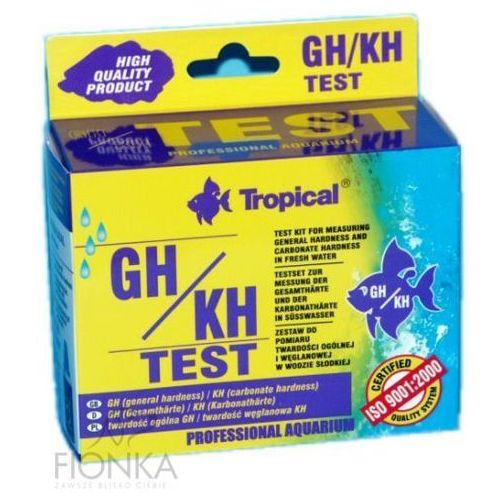 test gh/kh do pomiaru twardości wody wyprodukowany przez Tropical