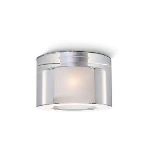 Redlux Wpust lampa sufitowa anna r10424  szklana oprawa podtynkowa plafon oczko przezroczyste