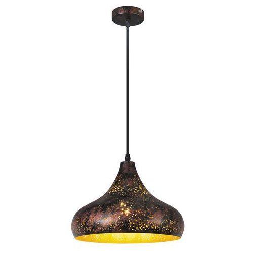 Lampa wisząca zwis oprawa Rabalux Shane 1X40W E27 złoty 2559 (5998250325590)