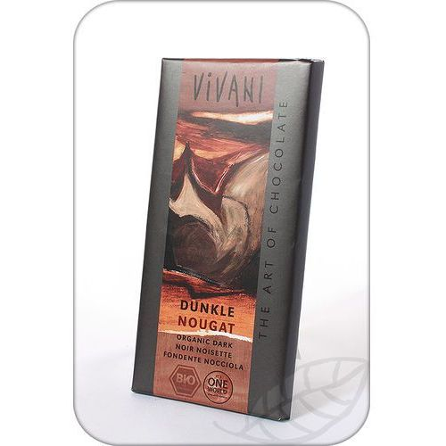: czekolada gorzka nugatowa bio - 100 g marki Vivani