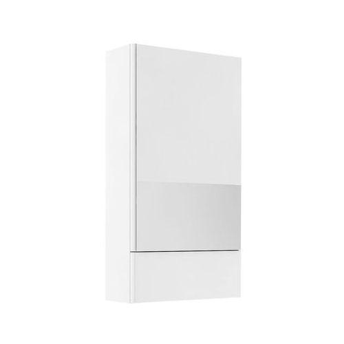 Nova Pro Koło szafka wisząca 46 4 x 85 x 17 6 cm z lustrem biały połysk - 88430000, 88430000