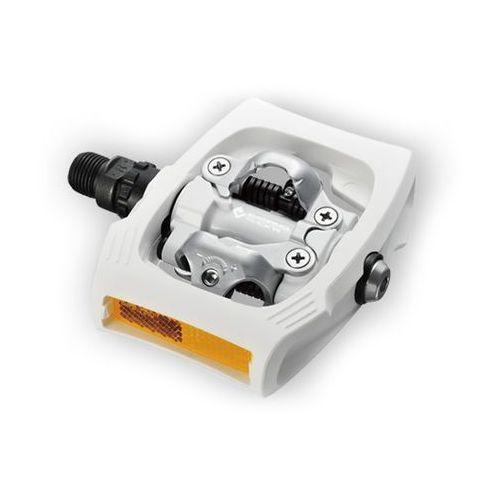 EPDT400WR WYPRZEDAŻ Pedały Shimano SPD Click'r PD-T400 białe (4524667561132)