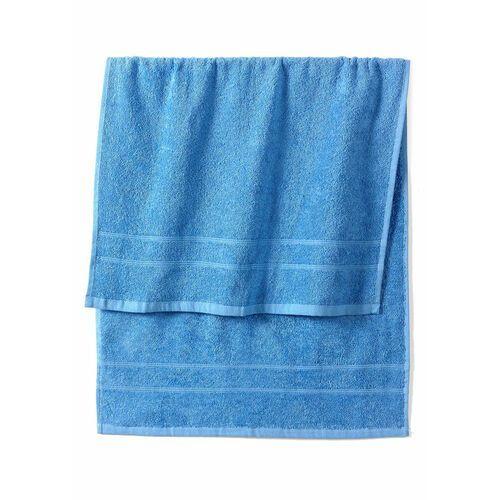 Ręczniki z ciężkiego materiału bonprix morski