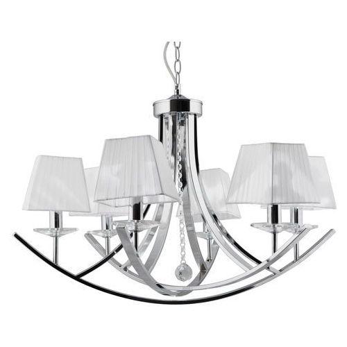 Lampa wisząca Candellux Valencia 6x40W E14 chrom 36-84579, 36-84579