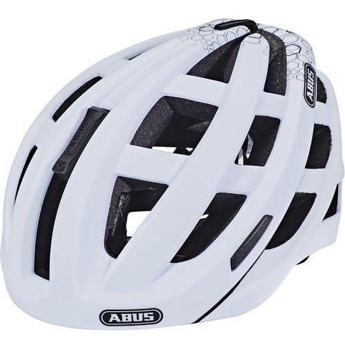 in-vizz ascent kask rowerowy biały l | 58-62cm 2018 kaski rowerowe marki Abus