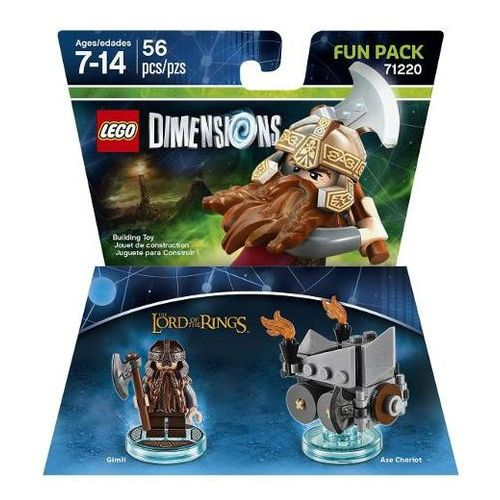 Avalanche studios Lego dimensions-lord of rings fun pack 71220-gimli