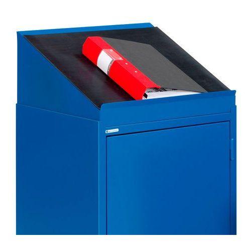 Blat do pisania do szafki serve, niebieski marki Aj produkty
