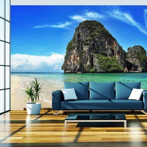Artgeist Fototapeta - egzotyczny krajobraz - plaża railay, tajlandia