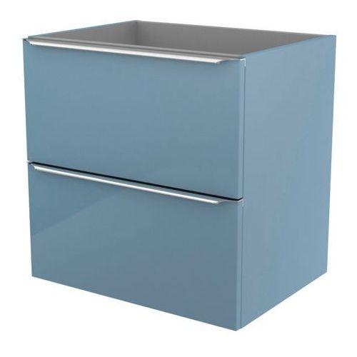 Szafka pod umywalkę GoodHome Imandra wisząca 60 cm niebieska (3663602932819)