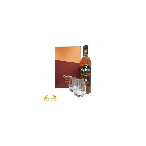 Whisky Glenfiddich 15YO 0,7l + dwie szklanki, 4AE2-292A6