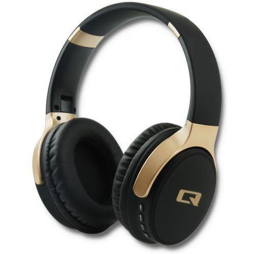 Słuchawki nauszne bezprzewodowe Qoltec 50815 kolor czarny- natychmiastowa wysyłka, ponad 4000 punktów odbioru!