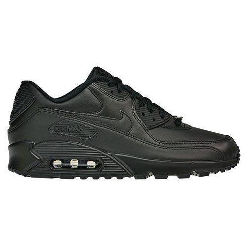 Buty air max 90 leather - 302519-001 marki Nike